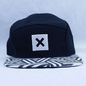 Other - X Truth 5-panel Hat Black & White